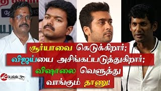 Kalaipuli Thanu slammed Actor Vishal and Gnanavelraja
