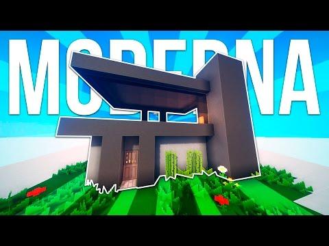 Como hacer una casa moderna en minecraft paso a paso doovi for Casa moderna minecraft paso a paso