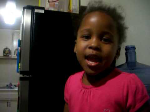 3 year old singing oh lord i want you to help me (help me on my journey)