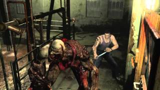 Repeat youtube video Resident Evil 0 - Proto-Tyrant (T-001 Model) Part 2 Knife Only