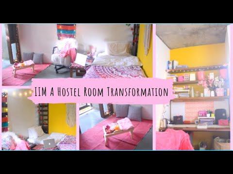 IIM A Dorm room decor on a budget | Hostel Room Makeover | Indian room Transformation | Smita K