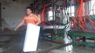eps fish box making machine/eps vegetable box making machine