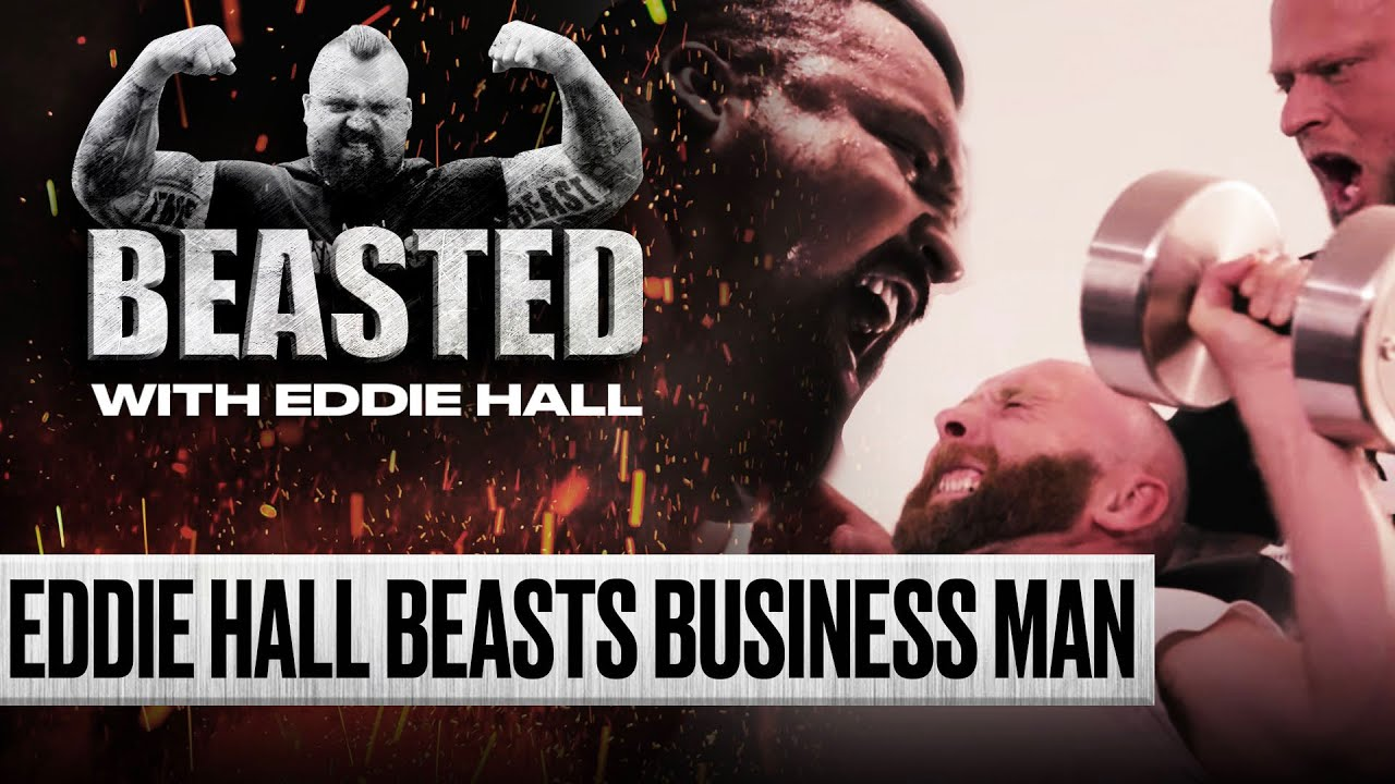 Eddie Hall Helps Ex-Homeless Drug Addict Battle His Demons | BEASTED | SPORTbible