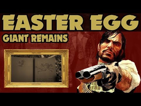 Red Dead Redemption 2 : Giant Remains Easter Egg thumbnail