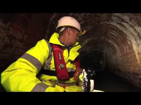Chesterfield Canal; Norwood Tunnel on BBC Look North 24th August 2016