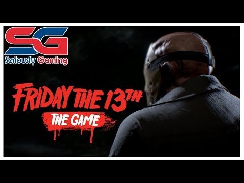 Friday the 13th: The Game PS4 Pro LIVE STREAM