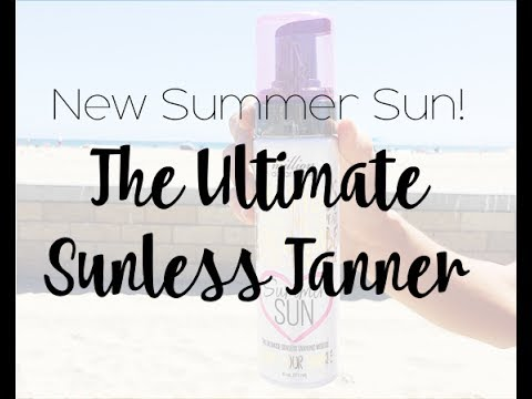 New Summer Sun! The Ultimate Sunless Tanner By Million Dollar Tan