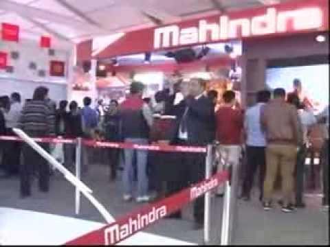 Mahindra Pavilion Walk Through AutoExpo 2014