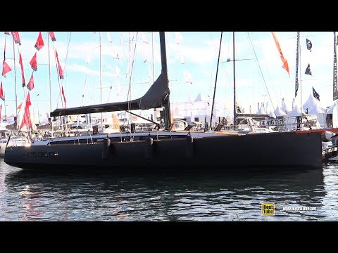 2018 Gulliver 57 Sail Yacht - Deck and Interior Walkaround - 2018 Cannes Yachting Festival