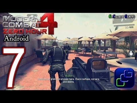 Modern Combat 4: Zero Hour Android Walkthrough - Part 7 - Mission 6: Manhunt