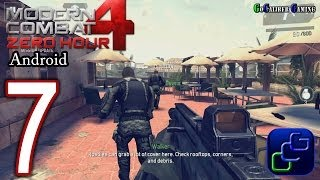 Modern Combat 4: Zero Hour Android Walkthrough - Part 7 - Mission 6: Manhunt