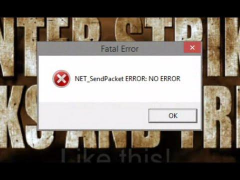 Net_SendPacket Error Solved!