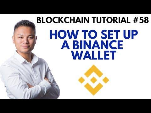 Blockchain Tutorial #58 - How To Setup A Binance Wallet