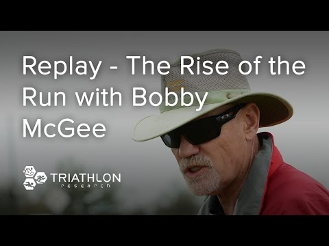 """Triathlon Research - 19 October - """"Replay - The Rise of the Run"""" with Bobby McGee"""