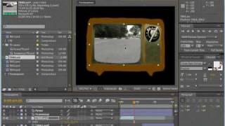 Добавление видеофайла в композицию. AE CS4(5/10)