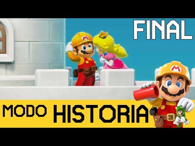 ¡¡CASTILLO AL 100%!! GRAN FINAL - MODO HISTORIA #5 | SUPER MARIO MAKER 2 (Switch) - ZetaSSJ