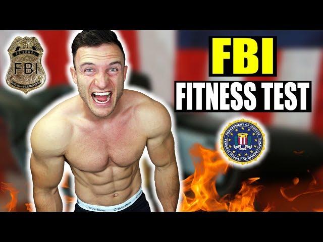 Ich mache den FBI FITNESS TEST ohne Vorbereitung! | Extremes Selbstexperiment