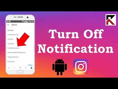 How To Turn Off Notifications Instagram Android - YouTube