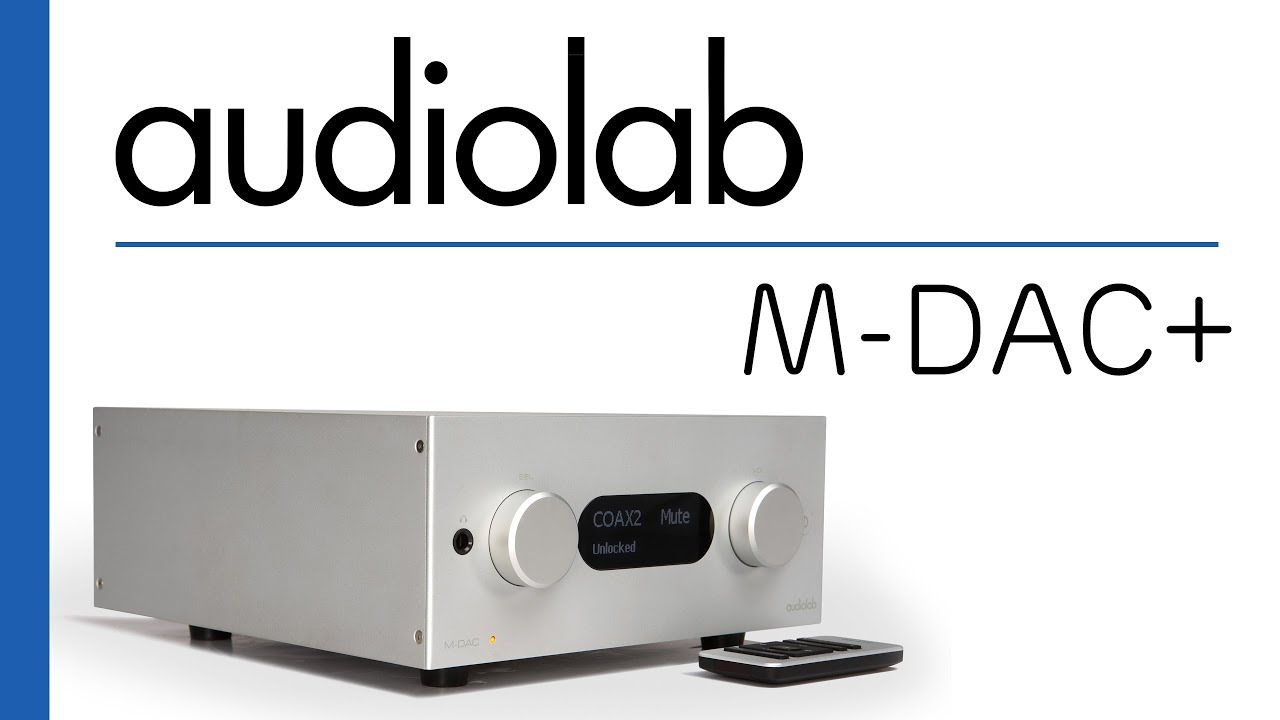 Tannoy DC6T+ Primare A 30.1+ Audiolab M-dac - YouTube