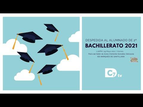 Despedida al alumnado de 2º de Bachillerato 2021
