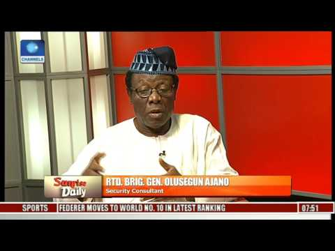 Nigeria Has Not Gotten To The Point Where People Can Import Arms -- Olusegun Ajano