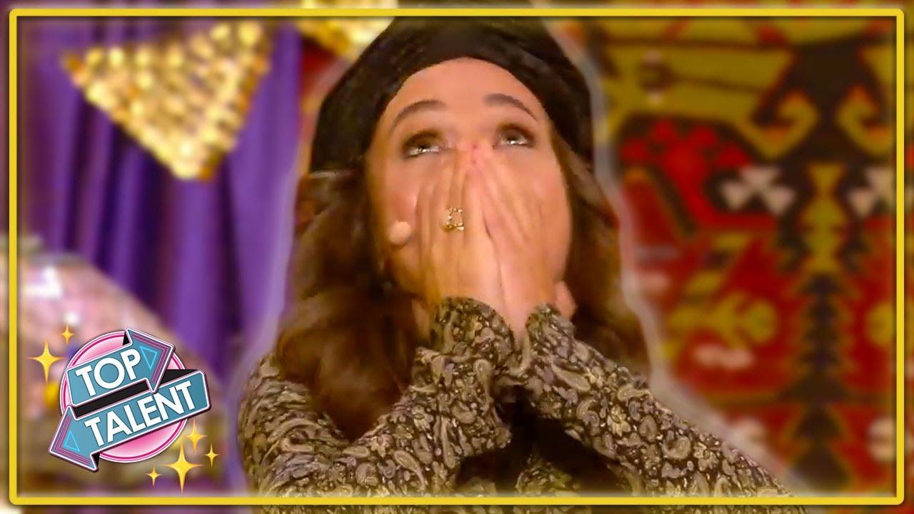 GOLDEN BUZZER | Most UNIQUE Ventriloquist Singer EVER On Spain's Got Talent 2021! | Top Talent