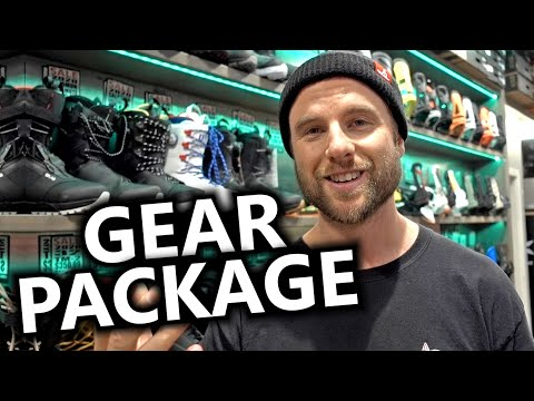 How To Put Together A Snowboard Gear Package