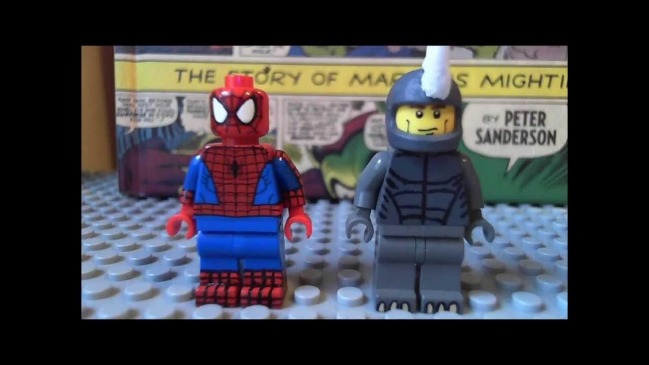 custom lego spiderman ...