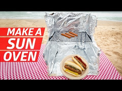 Can You Cook Hot Dogs with Just the Power of the Sun? — You Can Do This!