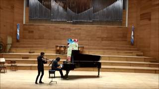 Z. Kodály - Adagio for Violin & Piano (1905) - Zuzuk/Villegas