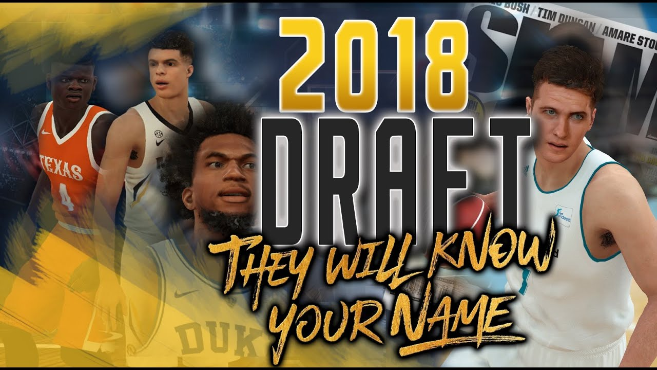 NBA 2K18 - 2018 NBA Draft Class PC - Ratings and Faces  2K19 Rookies are  here!