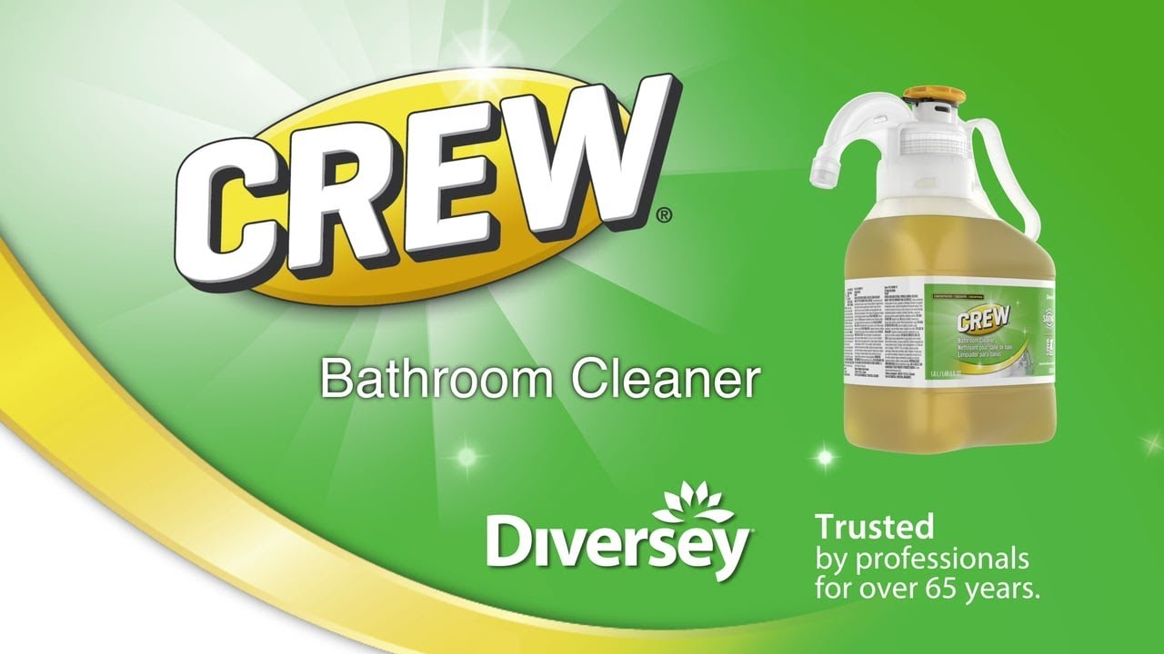 Crew Bathroom Cleaner Smartdose Diversey Brands