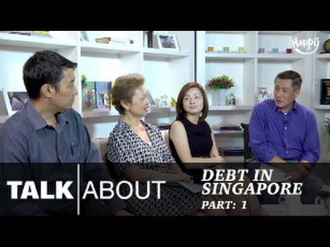 Talkabout - Are Singaporeans in debt? (Part 1) : Meet the guests.