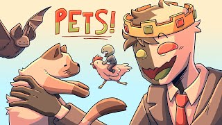 The story of my pets on the DreamSMP...