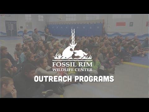 Education Outreach Programs | Fossil Rim Wildlife Center