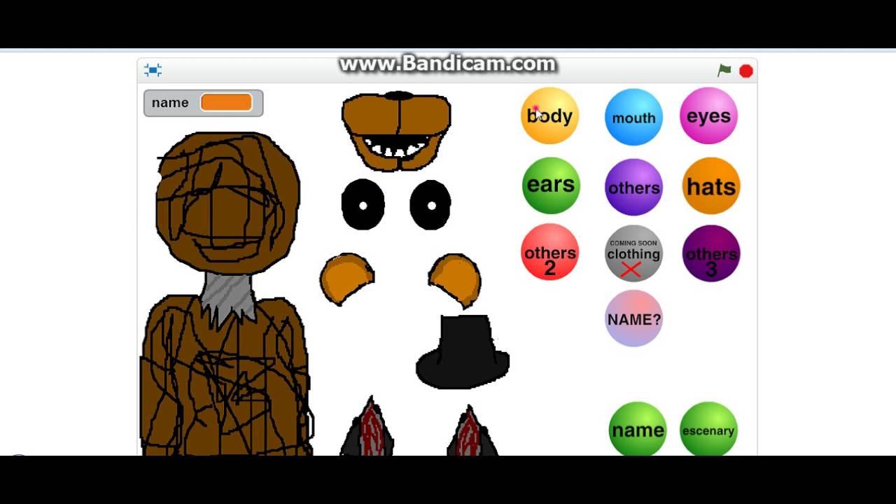 Fnaf Animatronic Creator
