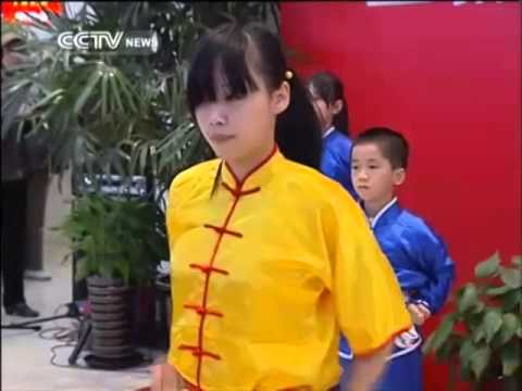 Shanghai park offers free Kung Fu classes