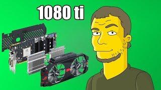 Купил отжатые 1080 TI после майнинга