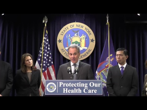 New York Attorney General Eric Schneiderman announces a new multistate lawsuit to protect critical subsidies under the Affordable Care Act and the millions of people who rely on them.