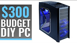 $300 DIY Gaming PC Build - 1080p better than a console?