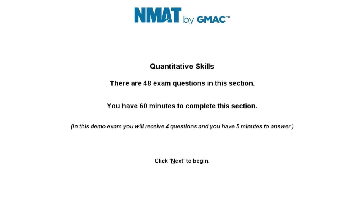 NMAT Exam Pattern 2019, Marking Scheme, Syllabus by GMAC