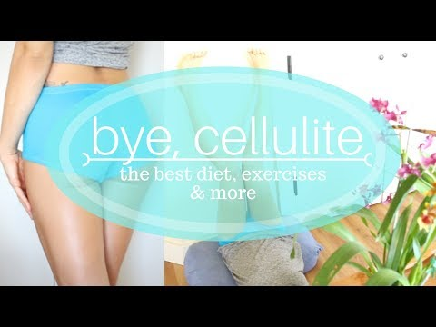 GET RID OF CELLULITE FOR GOOD! Diet, Exercise & My at-home FREE cellulite treatment