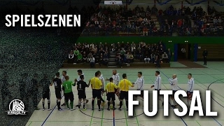 Hamburg Panthers - HSV Futsal (Finale, Futsal Final Four 2016) | ELBKICK.TV