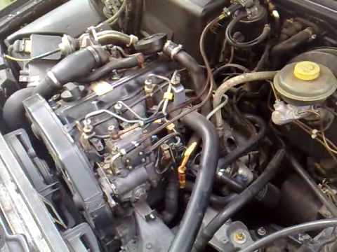 audi 80 avant 1 9 tdi 1993 engine problem youtube. Black Bedroom Furniture Sets. Home Design Ideas
