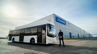 Электро автобус Volgabus.Тест-драйв.Anton Avtoman