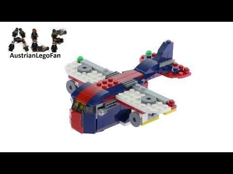 Lego Creator 31045 Cargo Plane Model 2of3 - Lego Speed Build Review