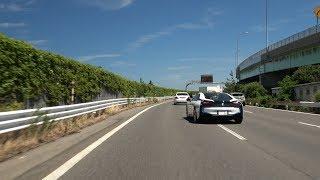 4K 抜け道 ⇒ 新潟西バイパス 下り ⇒ 桜木 I.C 2018-08-12 National Route 116 Niigata West Bypass