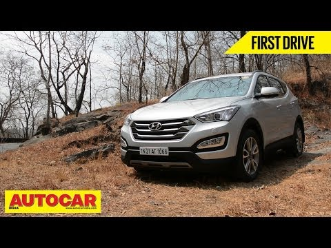 New Hyundai Santa Fe | First Drive Video | Autocar India