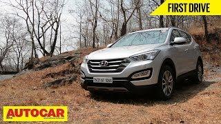 New Hyundai Santa Fe | First Drive Video | Autocar India