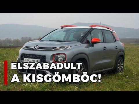 Citroën C3 Aircross - Teszt   Alapjárat